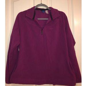 Reebok quarter zip pullover